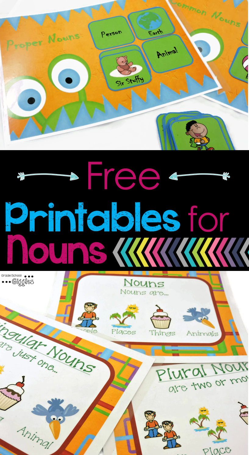 Do Your Kids Struggle To Remember Capitalization and Spelling Rules for Nouns?