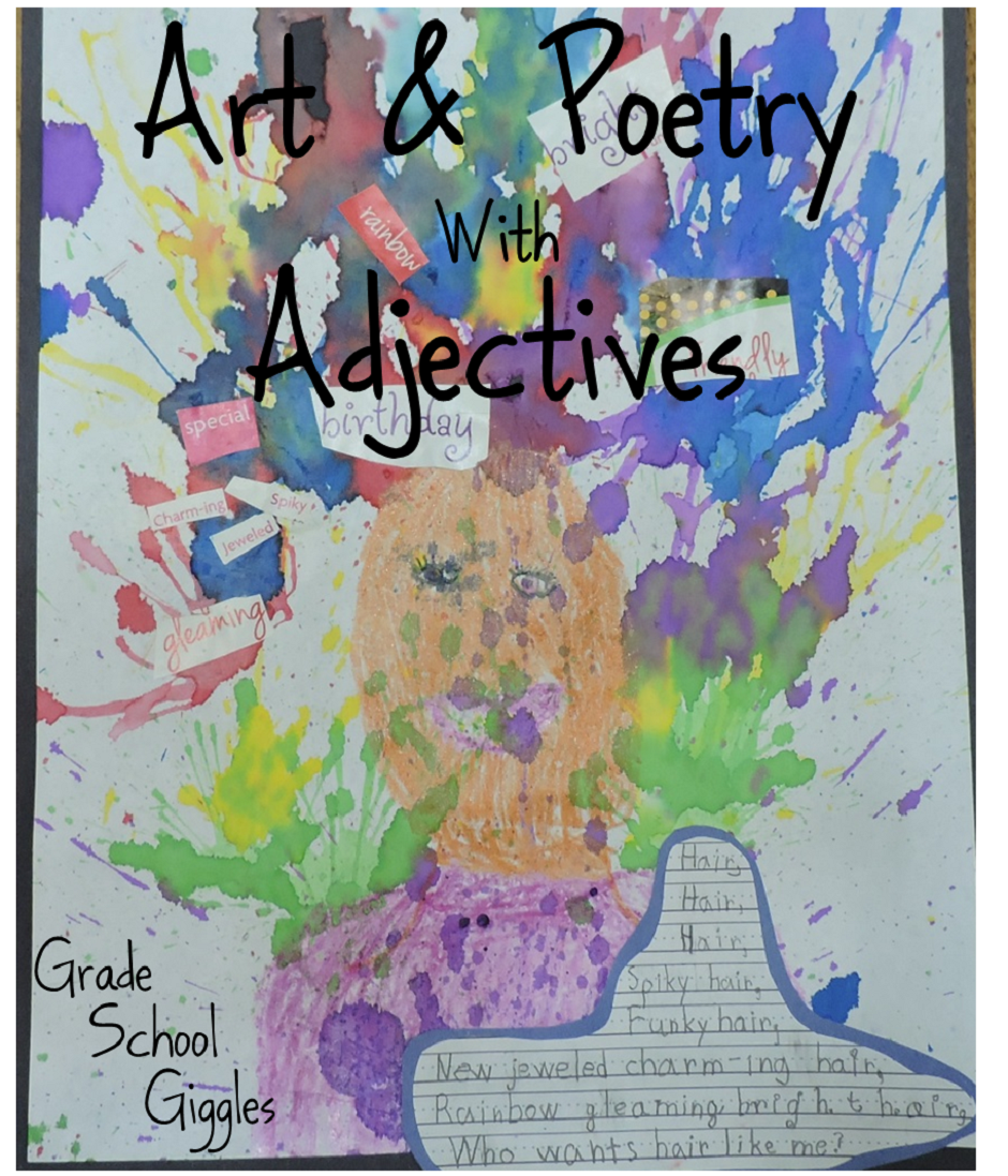 Art and Poetry with Adjectives 2