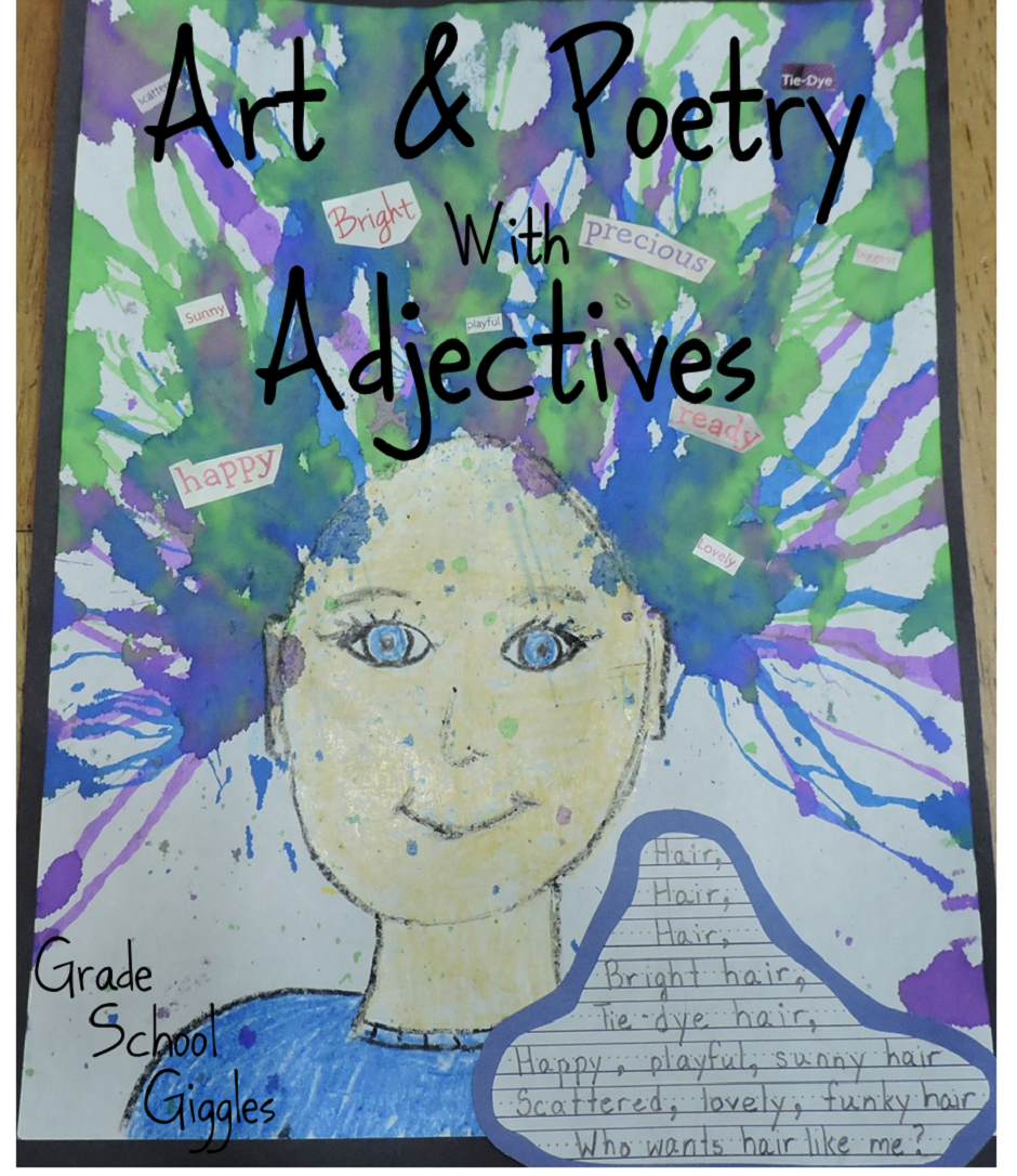 Art and Poetry with Adjectives