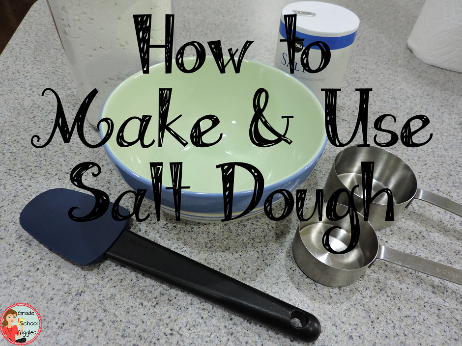 How to Make and Use Salt Dough