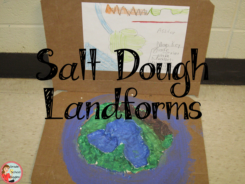 Salt Dough Landforms
