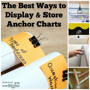 The Best Ways to Display and Store Anchor Charts