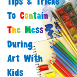 Tips and Tricks to Contain The Mess During Art Projects With Kids