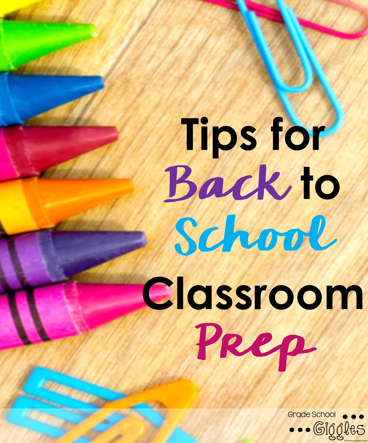 Setting Up Your Classroom: A Checklist for Classroom Prep - Grade ...