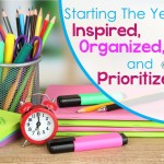 Starting The Year Inspired, Organized, and Prioritized