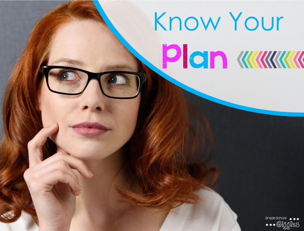 Image of woman thinking about her plan to get organized.