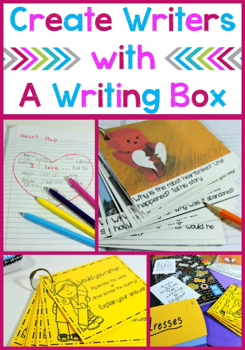 Encouraging Independent Writing with a Writer's Box – Freebies!