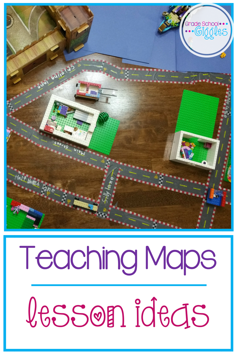 Teaching Maps: Lesson Plan Ideas