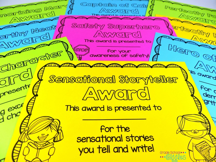 With nearly 100 different awards, you're sure to find the perfect award to reward each of your students for their unique gifts. These awards are ready to go. Simply pick the awards, print the certificates, and fill in the names and dates. Your classroom awards will be done in no time at all.