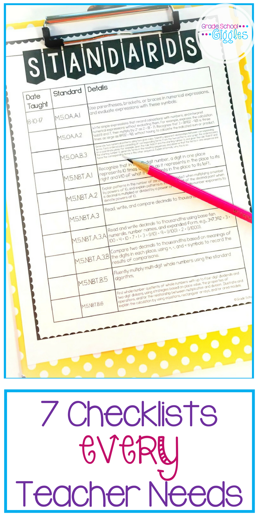 Do You Have These 7 Checklists Every Teacher Needs?