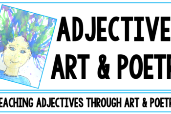 Are you looking for an adjectives activity? This activity is a unique and beautiful craft for kids. This art activity integrates with a lesson on adjectives. Students search for words to describe people in magazines and cut out the adjectives that fit the personality and appearance of their paintings. They glue the words throughout their art's hair. The project is completed by writing a descriptive poem. The finished poetry and the paintings make a great bulletin board or hallway display.