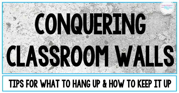 Decorating Classroom Walls Before Students Come Back To