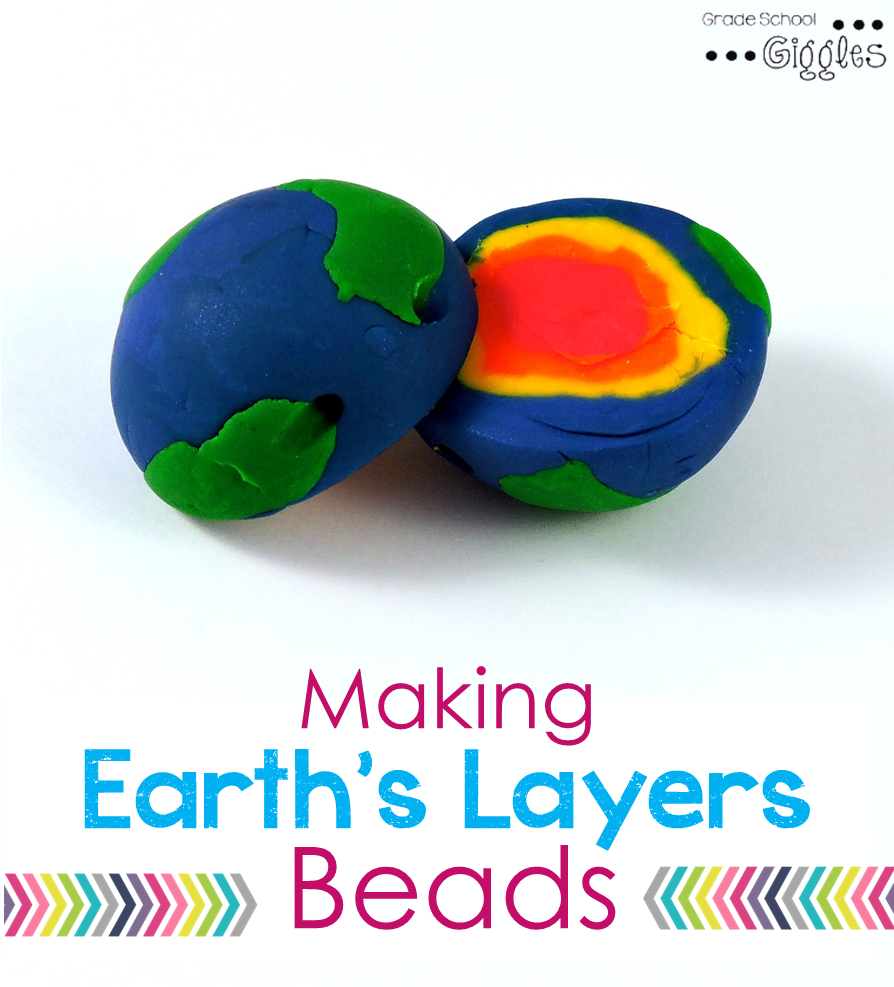 Making Stuff Up >> Earth Layers Project for Kids - Grade School Giggles