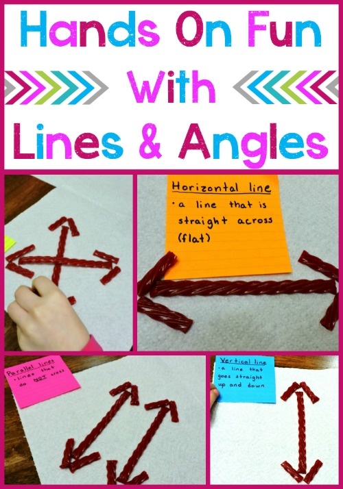 Line Art With Lines And Angles : Lines and angles a hands on lesson idea grade school